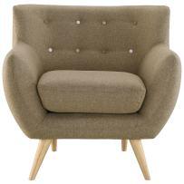 Modway Remark Armchair in Brown