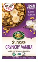 Nature's Path Organic Gluten-Free Cereal, Crunchy Vanilla Sunrise, 10.6 Ounce Box