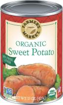 Farmer's Market Organic Sweet Potato Puree, 15-Ounce Cans (Pack of 12)
