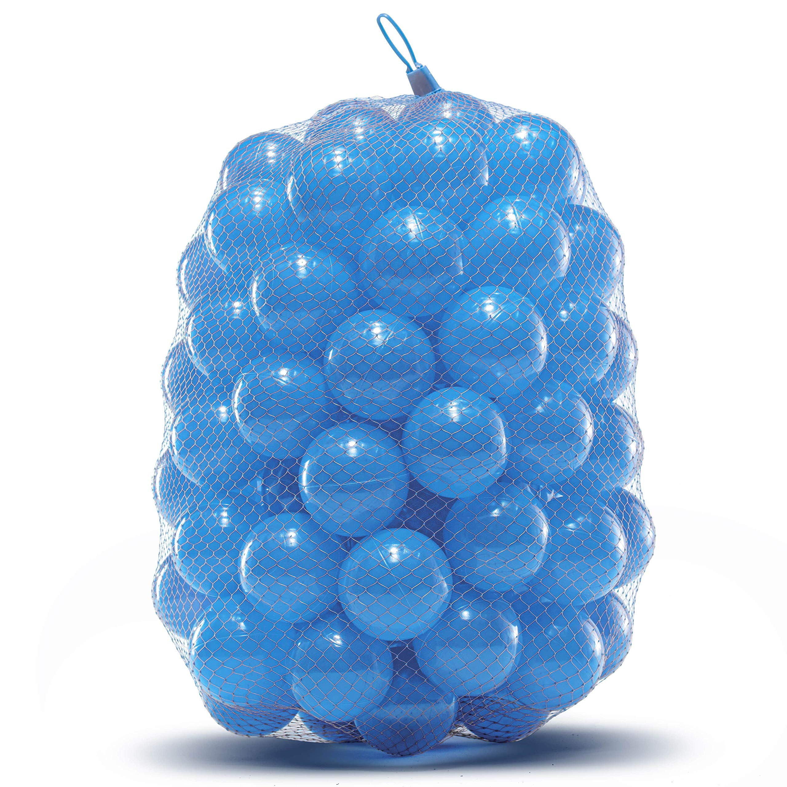 Outdoor Heights Ball Pit Balls - Phthalate and BPA Free - Crush Proof Plastic Pit Balls - Kiddy Trampoline Balls for Ball Pit and Bounce House Ball