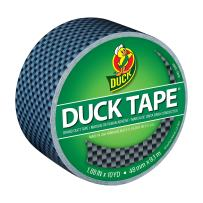 Duck Brand 283982 Printed Duct Tape, Carbon Fiber, 1.88 Inches x 10 Yards, Single Roll