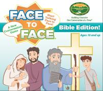 Harvest Time Partners Face to Face Card Game - Bible Edition – Bible Events That Teach Character Development, Ages 10 and Up