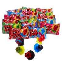 Ring Pop Individually Wrapped Bulk Variety Party Pack – 50Count Candy Lollipop Suckers w/ Assorted Flavors