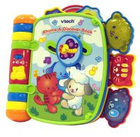 VTech Rhyme & Discover Book, Great Gift for Kids, Toddlers, Toy for Boys and Girls, Ages Infant, 1, 2, 3