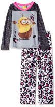Universal Girls' Despicable Me 2-Piece Pajama Set