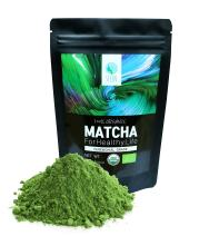 SEEIN Organic Matcha Ceremonial Grade Tea - USDA/EU Certified Korean Organic Matcha Green Tea Powder with Natural Antioxidants and Amino Acids - Vegan-Friendly - 100 g (3.52oz) - 50 Servings