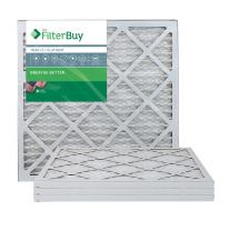 FilterBuy 22x22x1 MERV 13 Pleated AC Furnace Air Filter, (Pack of 4 Filters), 22x22x1 – Platinum