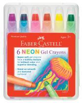 Faber-Castell Children's Neon Gel Crayon