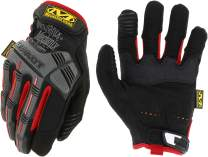 Mechanix Wear MPT-52-009 - M-Pact Gloves (Medium, Black/Red)