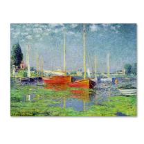 Argenteuil by Claude Monet work, 26 by 32-Inch Canvas Wall Art