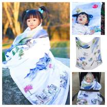 Baby Blanket Canada 8 Layers Luxury Bamboo Organic Cotton Quilt Toddler Boy Girl