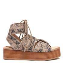 KELSI DAGGER BROOKLYN Women's Decatur Gladiator Lace-Up Sandal