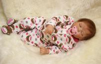 "OtardDolls Soft Vinyl Silicone Reborn Doll 22"" Reborn Baby Doll Lifelike Baby Doll Children Gifts (Cute Monkey Type)"