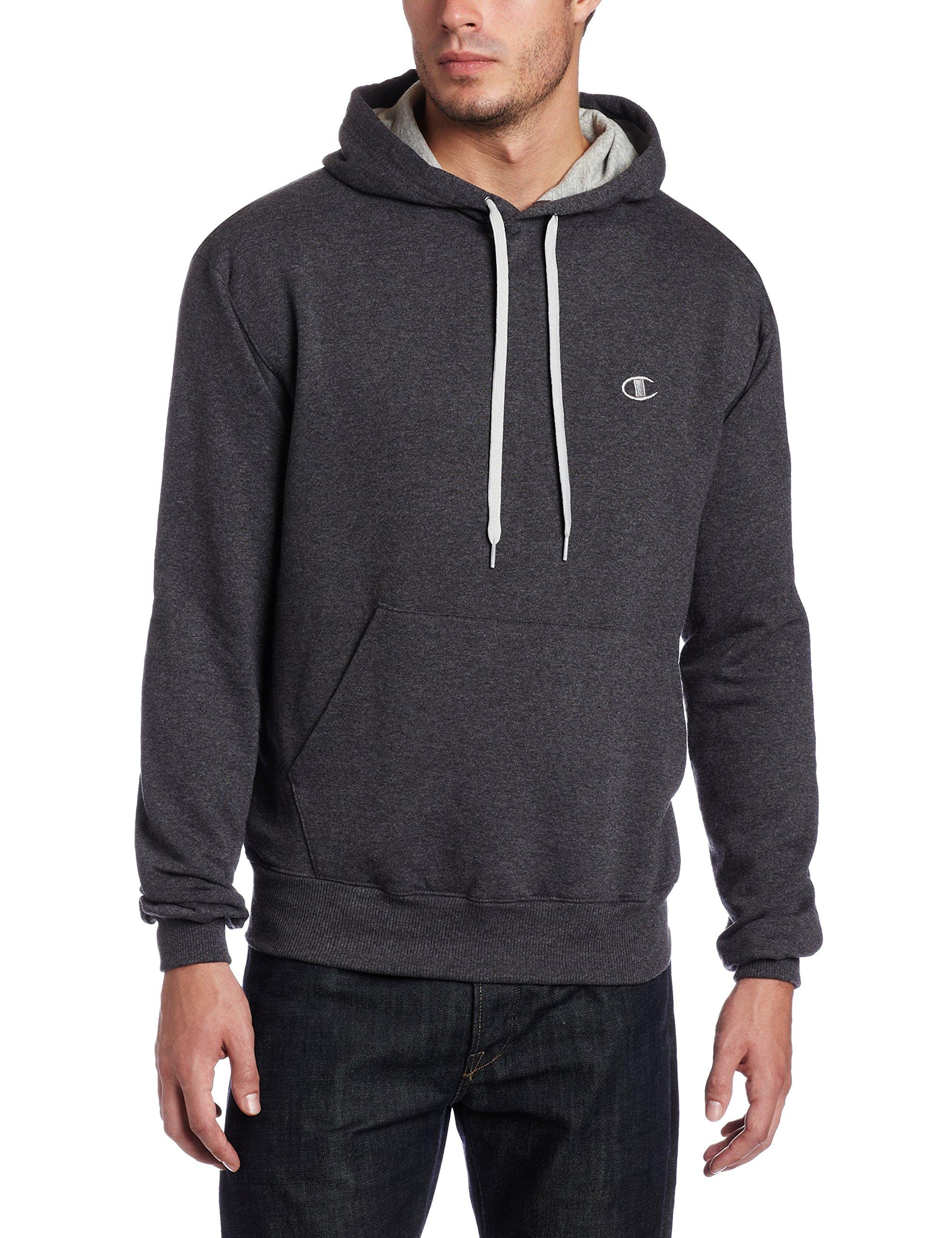 Champion Men's Pullover Eco Fleece Hoodie