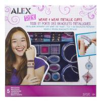 Alex DIY Weave and Wear Metallic Cuffs
