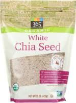 365 Everyday Value, Organic White Chia Seed, 15 oz