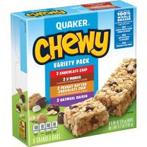 Quaker Chewy Granola Bars Variety Pack, .84oz 8 count, 6.7oz