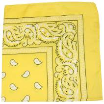 Mechaly Paisley 100% Cotton Bandanas
