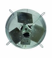 "TPI Corporation CE-18-D Direct Drive Exhaust Fan, Guard Mounted, Single Phase, 18"" Diameter, 120 Volt"