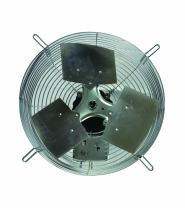 "TPI Corporation CE-18-D Direct Drive Exhaust Fan, Guard Mounted, Single Phase, 18"" Diameter, 120 Volt"