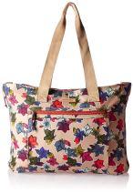 Vera Bradley Women's Lighten Up Expandable Tote Travel Bag
