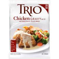Trio Chicken Gravy Mix, Just Add Water, 22.6 oz Bag