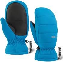 Kids Winter Mittens - Snow & Ski Mittens for Boys & Girls - Waterproof Children & Youth Mitts Gloves