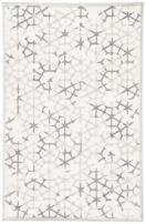 "Jaipur Living Charm Geometric White Area Rug (5' X 7'6"")"