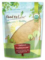 Organic Maca Root Powder by Food to Live (Non-GMO, Kosher, Raw Ground, Flour, Bulk) — 2 Pounds