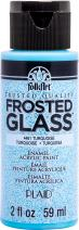 FolkArt 4461 Durable Paint, 2 oz, Frosted Turquoise