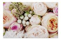 Close Up of Bouquet of Pale Pink Flowers & Seeds 9018129 (Premium 1000 Piece Jigsaw Puzzle for Adults, 19x27, Made in USA!)