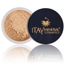 Itay Mineral Cosmetics Natural Loose Mica Powder Foundation (MF6 LATTE MECIATTO)