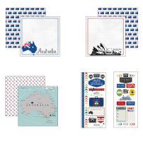 Scrapbook Customs Australia Adventure Scrapbook Kit
