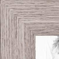 ArtToFrames 8x21 inch  Gray Oak - Barnwood Picture Frame, 2WOM76808-973-8x21
