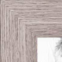ArtToFrames 13x25 inch  Gray Oak - Barnwood Picture Frame, 2WOM76808-973-13x25