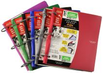 Five Star Flex Hybrid Notebinder, 1-1/2 Inch Binder, Notebook and Binder All-in-One, Color Selected For You (29146)