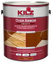 KILZ Over Armor Smooth Wood/Concrete Coating, 1 gallon, Redwood