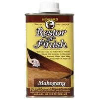 Howard Products RF5008 Restor-A-Finish, 8 oz, Mahogany