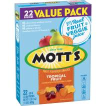 Mott's Fruit Flavored Snacks Tropical Fruit, 17.6 Ounce (Pack of 6)