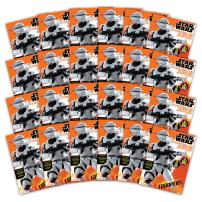 Bendon 42541-Amzb Star Wars Episode VII 24-Page Sticker Scene Plus Coloring and Activity Book (18-Count)
