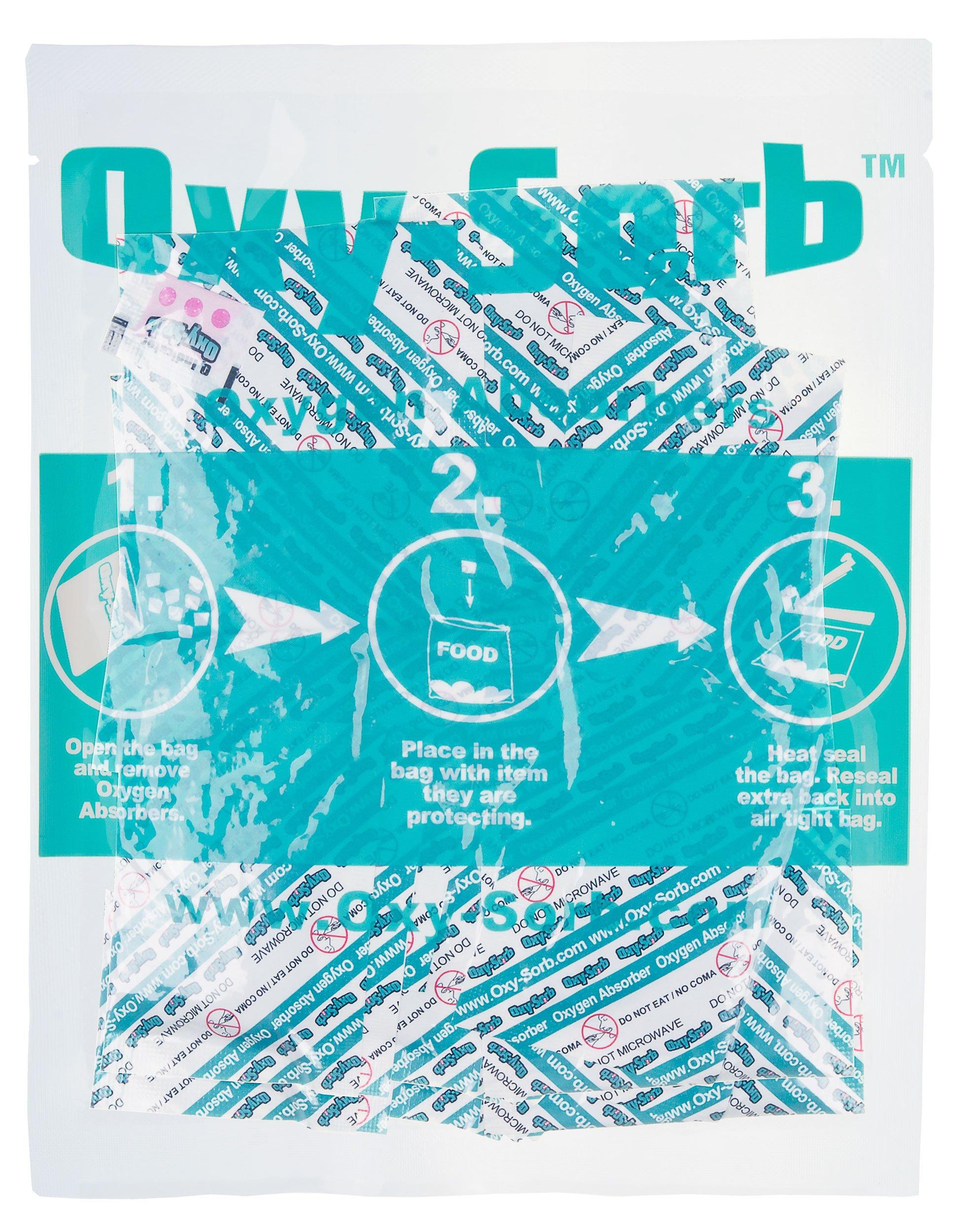 Oxy-Sorb 300CC-100PK Oxygen Absorber, 100PK, Blue