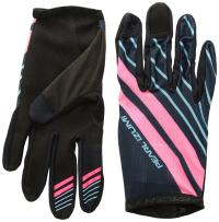 PEARL IZUMI Divide Glove, Mid Navy/Atomic Red MTN, XX-Large
