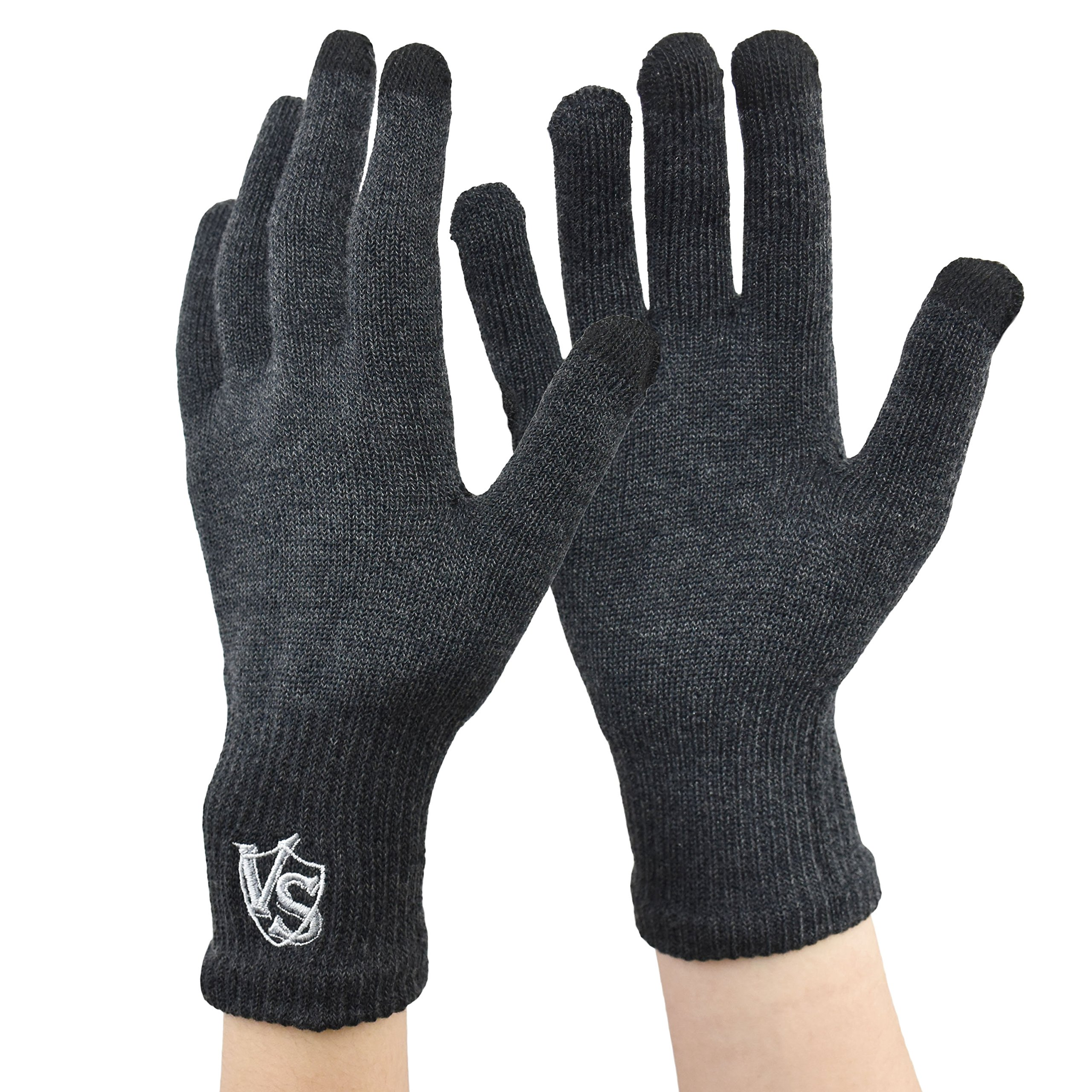 Vital Salveo-Office Stretchy Unisex Recovery Touchscreen, Running, Driving, Texting Arthritis Gloves for Smartphones (Pair)