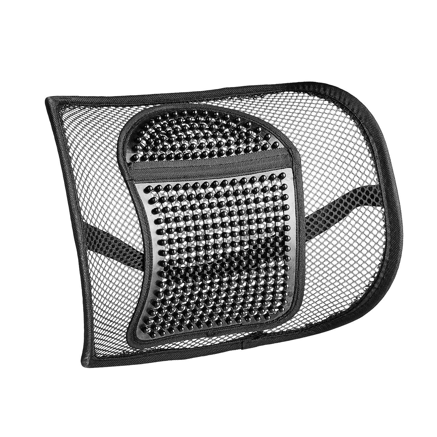 Sermicle Lumbar Support Mesh Vekey Back Support Mesh Back Cushion Breathable Comfortable Adjustable For All Types Car Seat Office Chair Pp Fiber Mesh Standard
