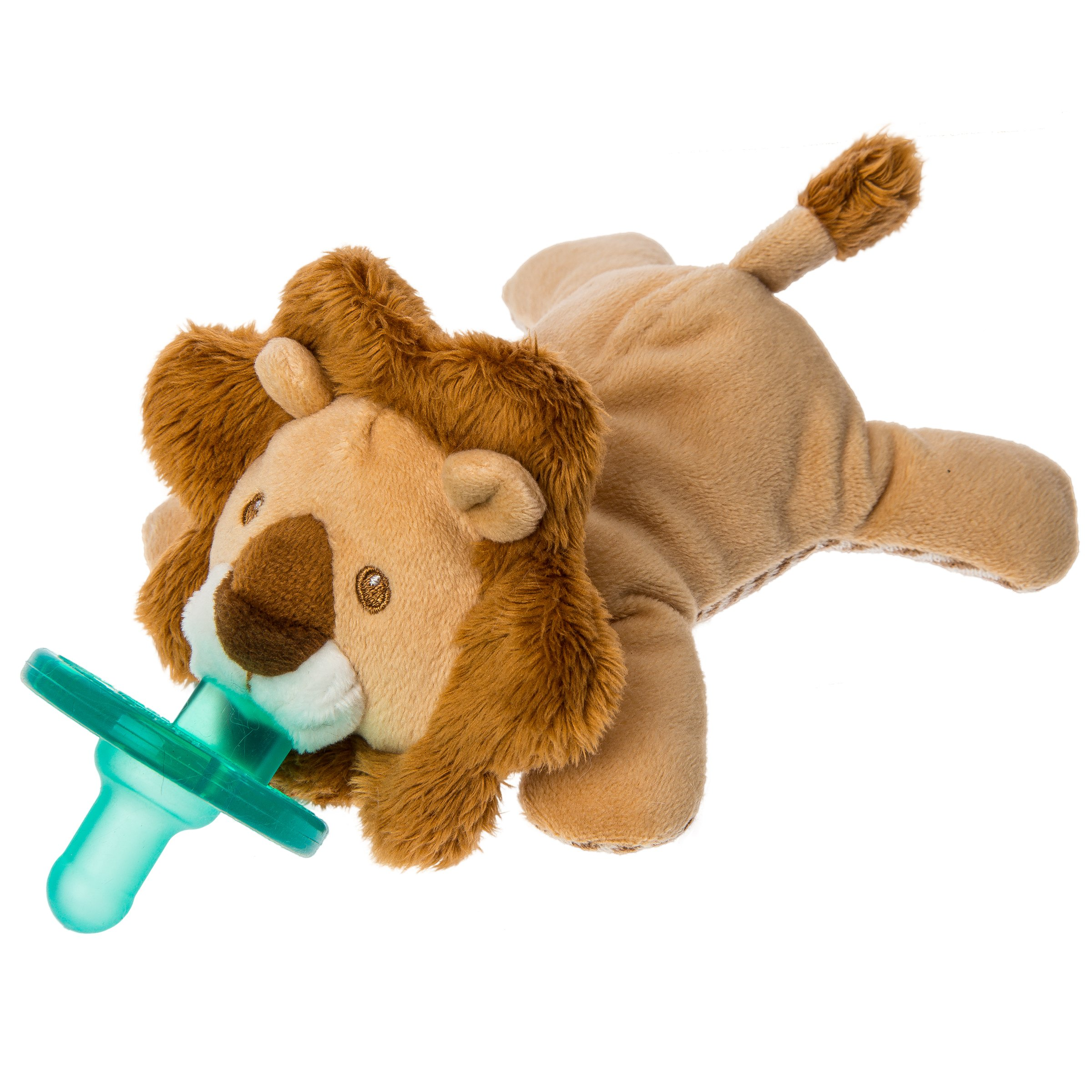 Mary Meyer WubbaNub Soft Toy and Infant Pacifier, Afrique Lion