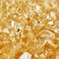 Citron - Fire Glass for Indoor and Outdoor Fire Pits or Fireplaces   10 Pounds   1/4 Inch