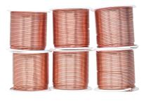 Mandala Crafts Anodized Aluminum Wire for Sculpting, Armature, Jewelry Making, Gem Metal Wrap, Garden, Colored and Soft, Assorted 6 Rolls (18 Gauge, Combo 2)