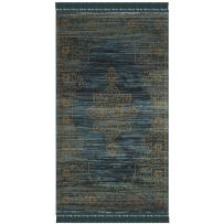 "Safavieh Serenity Collection SER210C Turquoise and Gold Area Rug (2'3"" x 3'9"")"