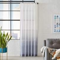 "Amazon Brand – Rivet Casual Curtain, 84"" x 52"", Spa"