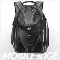 Graphite Series Express Laptop Backpack 16 Inch PC and 17 Inch Mac, Ergonomic Ventilated Back Panel for Superior Comfort, Premium Exterior Material, Graphite, for Men, Women, Business, Students MEGBPE